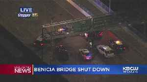Man In Custody After Claiming To Have Bomb On Benicia Bridge [Video]