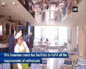 Luxurious Costa Cruise ship docks at Cochin port [Video]