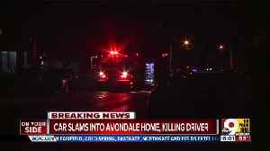 Driver killed after car goes into Avondale home Saturday morning [Video]