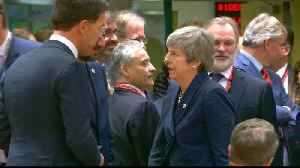 EU leaders lukewarm on British PM's Brexit extension request [Video]