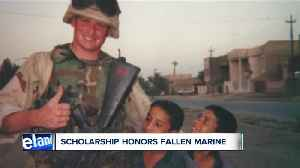 Family of fallen Marine hosting 14th annual scholarship fundraising gala [Video]