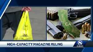 Legal battle continues after stay put on sales high-capacity magazine [Video]