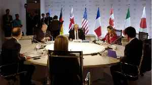 France Says G7 Mostly Agreed Except On Iran, Israeli-Palestinian Issue [Video]