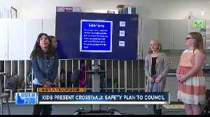 5th grade Snake River Elementary School children propose crosswalk to Nampa City Council [Video]