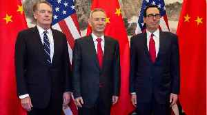 U.S. & Chinese Negotiators Conclude Latest Round Of Talks [Video]