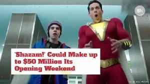 'Shazam' Is About To Go 'Shazam' At The Bank [Video]