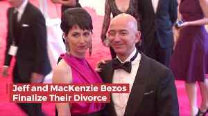 News video: The Bezos Divorce: You Keep 36 Billion And I'll Take The Rest