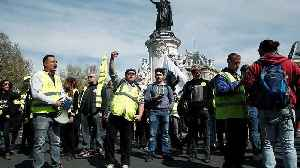 French 'Gilets Jaunes' march for the 21st consecutive week as Macron wraps up nationwide debate [Video]