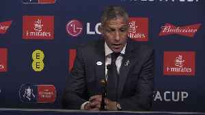 Chris Hughton: Kyle Walker should have been sent off [Video]