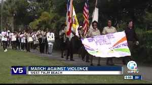 March against violence held in West Palm Beach [Video]