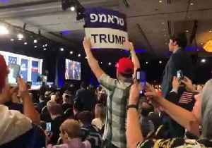 Protesters Interrupt Trump Speech to Republican Jewish Coalition [Video]