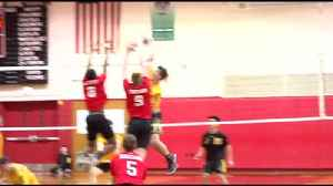 Freedom vs. Easton Boys' Volleyball Highlights [Video]