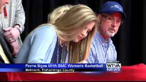 Belmont's Payne signs with Lady Toppers [Video]