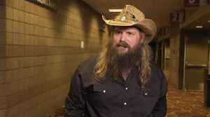 Chris Stapleton Likes To Be Surprised At The ACMs [Video]