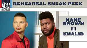 Kane Brown And Khalid Are Excited To Bring A Genre Crossover To The ACMs [Video]
