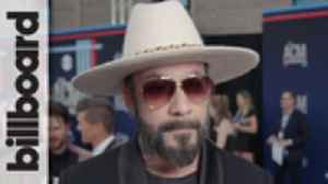 AJ McLean Talks New Single 'Boy and a Man' & Upcoming Backstreet Boys Tour With Baylee Littrell   | ACM Awards 2019 [Video]