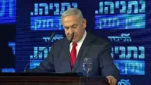 Israel's Netanyahu to annex West Bank settlements if reelected [Video]