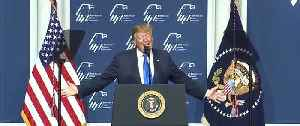 President Donald Trump and Vice President Mike Pence both speak at the Republican Jewish Coalition in Las Vegas Saturday [Video]