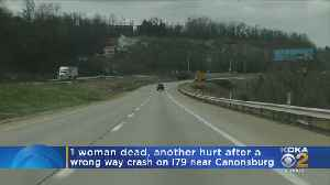 Police: One Woman Dead, Another Injured During Wrong Way Crash On I-79 [Video]