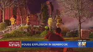 Benbrook Home A Total Loss After Explosion And Fire [Video]