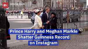 Prince Harry and Duchess Meghan Break Instagram Records [Video]