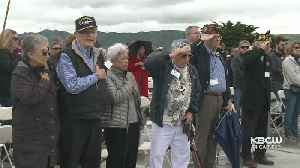 Veterans Who Survived WWII Bataan Death March Honored At Ceremony In San Bruno [Video]