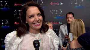 Katie Holmes Chats About 'Brahms: The Boy ll' at CinemaCon [Video]