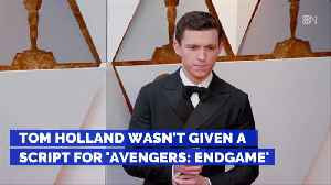Tom Holland Was Kept In The Dark For 'Avengers: Endgame' [Video]