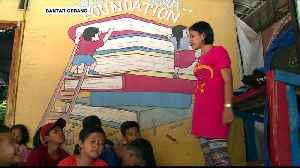 Indonesia: Children of landfill scavengers learn to dream big [Video]