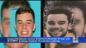 Search Parties Continue Looking For Missing Wentworth Institute Of Technology Student [Video]