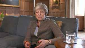 Theresa May gives video update on Brexit [Video]
