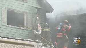 Abandoned Home In Duquesne Catches Fire [Video]
