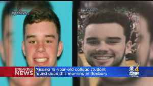 Missing Wentworth Student Max Carbone Found Dead In Roxbury [Video]