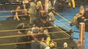 WWE Legend Bret Hart Tackled By Fan At Hall Of Fame Ceremony [Video]