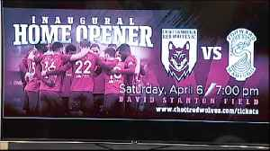 Chattanooga Red Wolves Ready For Inaugural Home Game [Video]