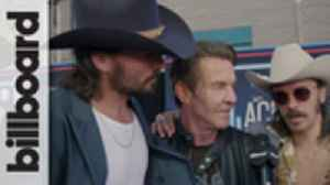 Midland & Dennis Quaid Talk Working Together on 'Mr. Lonely' Video | ACM Awards 2019 [Video]