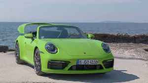 Porsche 911 Carrera 4S Cabriolet Design in Lizard Green [Video]