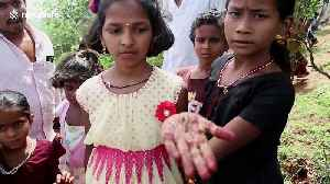Bizarre south Indian festival sees people play with deadly poisonous scorpions [Video]