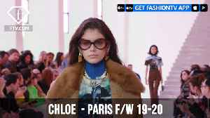 Kaia Gerber at Chloe Paris Fashion Week F/W 19-20 | FashionTV | FTV [Video]