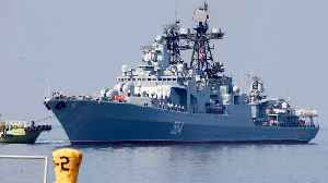 Russian Warships Arrive In Philippines [Video]
