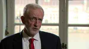 News video: Corbyn: Government not 'moving off original red lines'