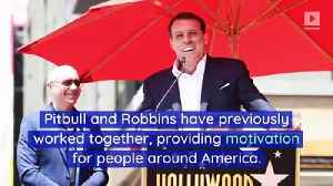Pitbull and Tony Robbins Join Forces for New Fitness Studio [Video]