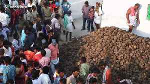 Indian villagers hold massive cow dung battle for health and prosperity [Video]
