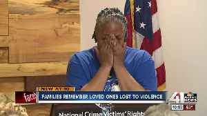 'There's a bond': Parents of homicide victims remember children at annual KCPD vigil [Video]