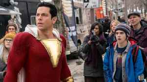 Gal Gadot Congratulates 'Shazam' Star Zachary Levi On A Strong Opening [Video]