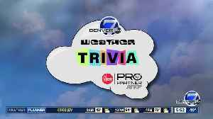 Weather trivia on April 8: Date of the latest snow on record [Video]