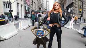 Becky Lynch Is Officially 'The Man' [Video]
