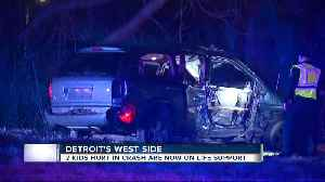 2 kids hurt in crash now on life support [Video]
