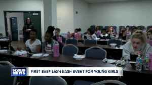 First 'Lash Bash' event to raise awarness of teen violence [Video]