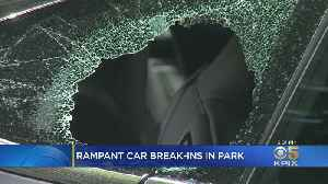 Police Warn That Golden Gate Park Is A Hot Spot For Car Break-Ins [Video]